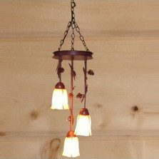 Pinecone Triple Pendant Light | Colorado Dallas | CDPL503-01FR-MA