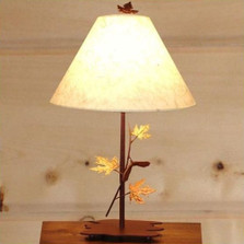 Maple Table Lamp | Colorado Dallas | CDSL0727FR-SH2156RP