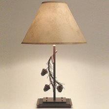 Pinecone Table Lamp | Colorado Dallas | CDTL0127SH2156