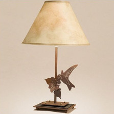 Hummingbird Table Lamp | Colorado Dallas | CDTL70D27SH2156