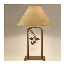 Pinecone Fortress Table Lamp | Colorado Dallas | CDTLF01SH2158