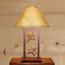 Maple Fortress Table Lamp | Colorado Dallas | CDTLF07FR-SH2158
