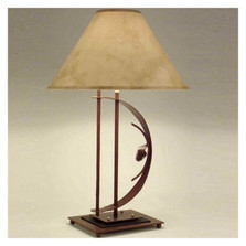 Pinecone Transitional Table Lamp | Colorado Dallas | CDTS0132SH2158