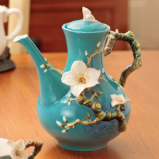Van Gogh Almond Flower Teapot | FZ02568 | Franz Porcelain Collection