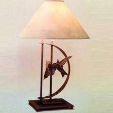 Hummingbird Transitional Table Lamp | Colorado Dallas | CDTS70D32SH2158