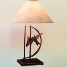 Hummingbird Transitional Table Lamp | Colorado Dallas | CDTS70D32SH2158