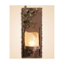 Aspen Leaves Wall Lamp Candle | Colorado Dallas | CDWL80303
