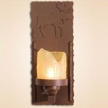 Moose Wall Lamp Candle | Colorado Dallas | CDWL80310