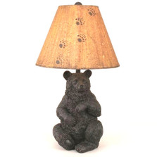 Sitting Black Bear Lamp | Coast Lamp | CLM2910