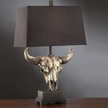 Buffalo Table Lamp Masters of the Prairies | Crestview Collection | CVCCSAUP767