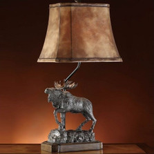 Majestic Moose Table Lamp | Crestview Collection | CVCCVATP582