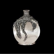 Silver Plated Round Vase | U101 | D'Argenta