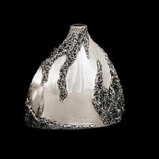 Silver Plated Short Vase | U103 | D'Argenta