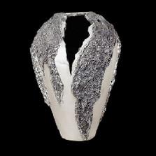 Silver Plated Large Modern Vase | U104 | D'Argenta