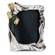 Tulip Photo Frame Silver Plated | U205 | D'Argenta