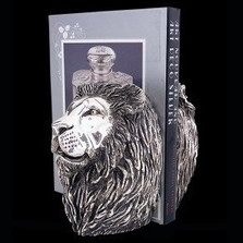 Silver Plated Lion Book Holder | U25 | D'Argenta -2
