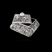 Silver Plated Jewelry Box U301   D'Argenta