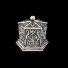 Silver Plated Tall Jewelry Box U303 | D'Argenta