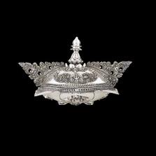 Silver Plated Ornate Jewelry Box U304   D'Argenta