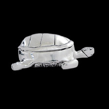 Turtle Silver Plated Jewelry Box | D'Argenta