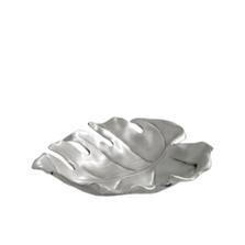 Tropical Leaf Silver Plated Fruit Bowl | U-32 | D'Argenta