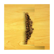 Grapes Right Vertical Drawer Pull | Functional Fine Art | ffa02247