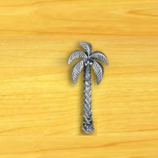 Palm Tree Drawer Pull | Functional Fine Art | ffa02348
