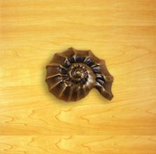 Nautilus Shell Knob | Functional Fine Art | ffa02846AB