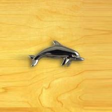 Dolphin Left Knob | Functional Fine Art | ffa02901CH