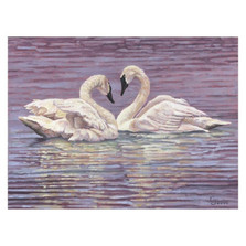 "Swan Print ""Love Dance"" 