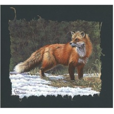 "Fox Print ""The Red Coat"" 