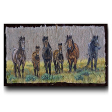 "Horse Print ""The Front Line"" 