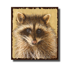 "Raccoon Print ""The Little Bandit"" 