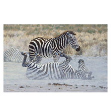 "Zebra Print ""Ying and Yang"" 