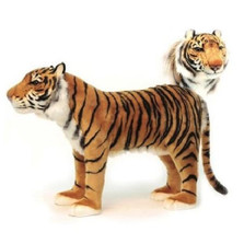 Tiger Plush Foot Stool | Hansa Toys | HTU6080