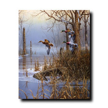 "Duck Print ""After the Thaw"" 