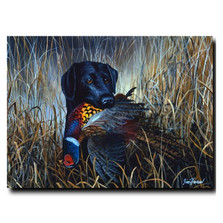 "Dog Print ""Bird Season"" 