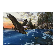 "Eagle Print ""Endangered Moment"" 