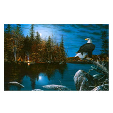 "Eagle Print ""Reflections"" 