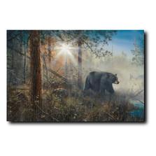 "Bear Print ""Shadow in the Mist""   Jim Hansel   JHshadowinmist"