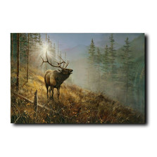 "Elk Print ""Song in the Mist"" 