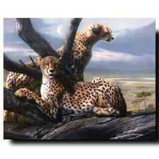 "Cheetah Print ""View to a Kill"" 