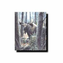 "Moose Print ""King of the Northwoods"" 