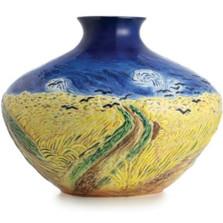 Van Gogh Wheatfield/Crows Vase | FZ02685 | Franz Porcelain Collection