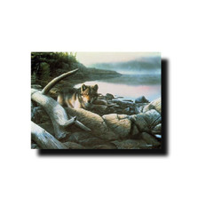 "Wolf Print ""Lone Drifter"" | Kevin Daniel | KD201"