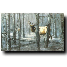 """Elk Print """"The Consequence of Fire"""" 