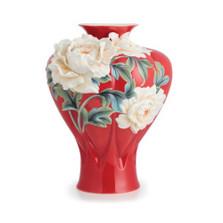 Venice Peony Porcelain Vase | FZ02687 | Franz Porcelain Collection