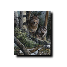 "Wolf Print ""Watchful Eyes"" | Kevin Daniel | KD283"