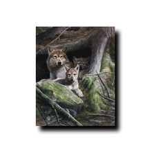 "Wolf Print ""A Mother's Pride"" 