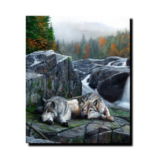 "Wolf Print ""Lazy Afternoon"" 
